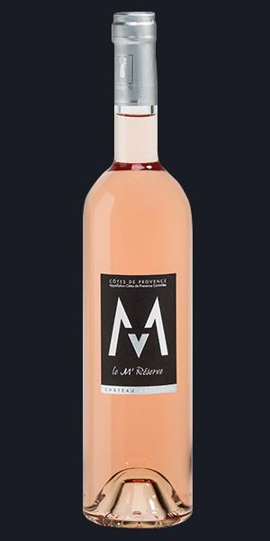 Vins Rosée M' Réserve- Château Matheron