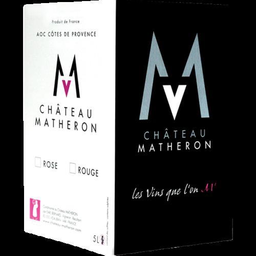 Bib AOC Côtes de Provence Rosé et Rouge - Château Matheron